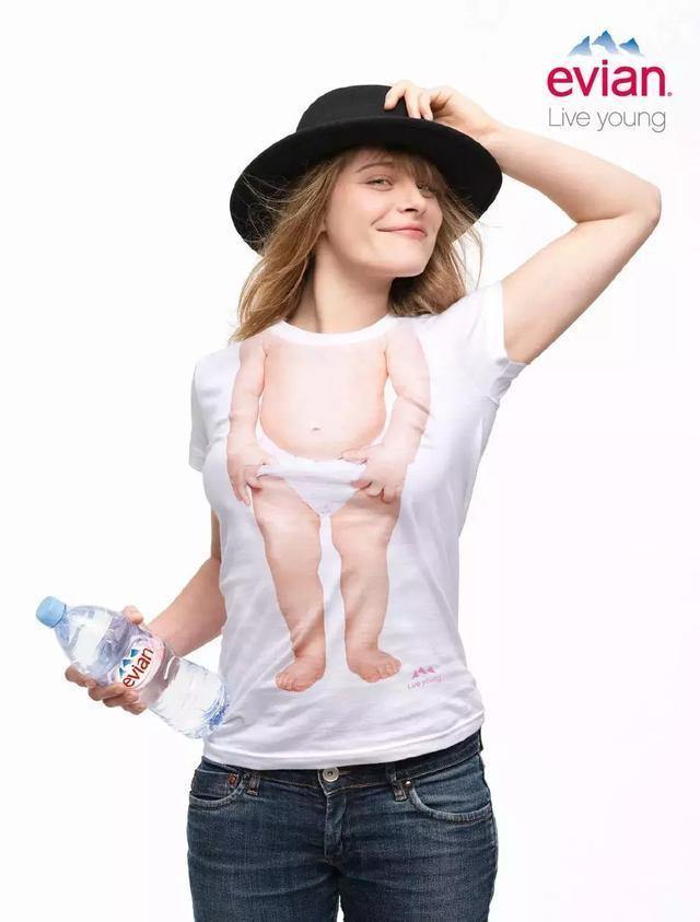 纯净水创意:纯净水广告创意!